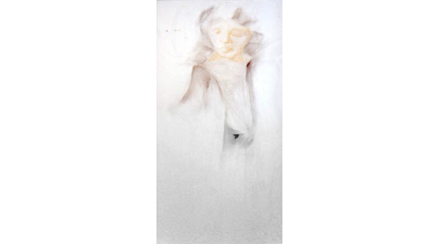 Angel Series #1 ( Mary in White )